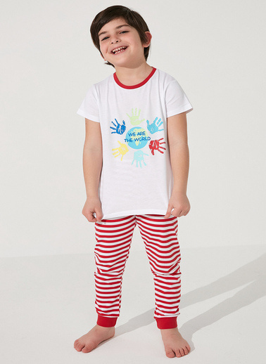 Penti Çok Renkli Unisex Together Ss 2Li Pijama Takımı Renkli